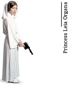 """Princess Leia Organa - from """"A Fans Guide to Star Wars"""" by daniekl #StarWars"""
