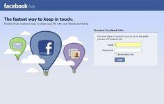 """Facebook disponibiliza versão """"Lite"""" da aplicação para Android"""