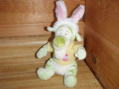 RARE Tigger Plush Easter Bunny Ears and Sweater w/ Eggs  Disney Store Exclusive  #Disney