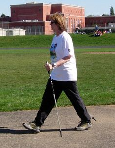 How to Use Poles for Nordic Walking: Nordic Walking Technique: Next Step