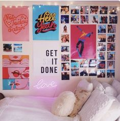 Teen Bedroom Ideas – Develop a space full of personal expression, inspired by these teen room concepts. Whether child or girl, infiltrate and also locate a style that fits. Source by Cute Room Ideas, Cute Room Decor, Teen Room Decor, Dorm Room Decorations, Dorm Room Art, Room Wall Decor, Photowall Ideas, Dorm Tapestry, Dorm Walls