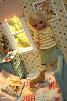tiny doll diorama
