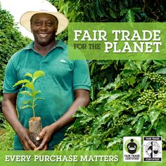 fair trade for the planet and for everyone! #fairtrade