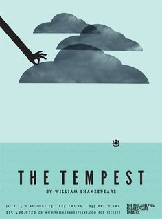 The Tempest...I had the joy of performing as Sebastian in the Actor's Circle Theatre production of this great comedy in 2012...It was supposed to be outside, but there was a tempest that lasted, well, pretty much all weekend...both weekends...