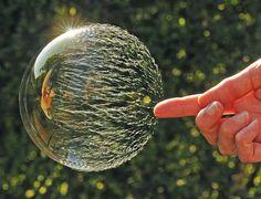 Bubbles don't POP, they RIP, SPLIT, TEAR, CRACK!!!