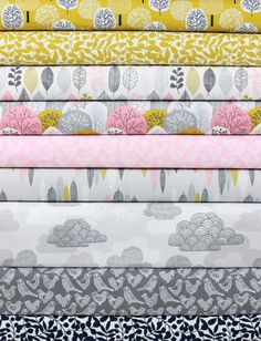Eloise Renouf for Cloud9, First Light, Golden Hour in FAT QUARTERS 9 Total