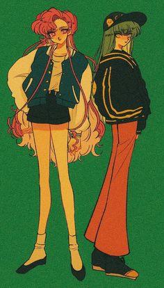 Sailor Moon Girls, Sailor Moon Art, Sailor Moon Aesthetic, Aesthetic Anime, 90 Anime, Anime Art, Kill La Kill, Cultura Pop, Character Design Inspiration