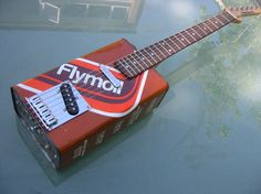 Flymo oil can guitar - retro 70s style!