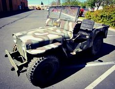 1948 Willy's Universal Jeep on Government Liquidation