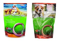 NBone Variety Puppy Teething Ring 6 Pack Pumpkin Flavor and 6 Pack Chicken Flavor ** Be sure to check out this awesome product.-It is an affiliate link to Amazon.