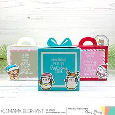 mama elephant | design blog: STAMP HIGHLIGHT: Mixed Holiday Greetings
