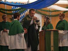 Volksfest Pfaffenhofen 2015: Volksfest Pfaffenhofen 2015 katholischer Gottesdienst