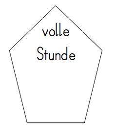 Uhr und Uhrzeit – Uhrzeiten lernen   Zeit   Pinterest   German ...