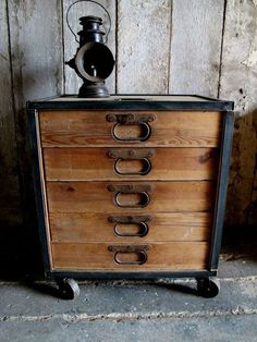 vintage, industrial, and amazing!