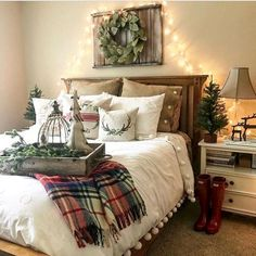 Cool 35 Awesome Farmhouse Bedroom Decor Ideas https://bellezaroom.com/2017/09/22/35-awesome-farmhouse-bedroom-decor-ideas/