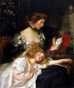 Mother and Child, James Jebusa Shannon