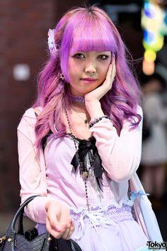 Pink Hair & One Spo Cardigan