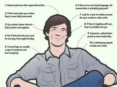 10 tactics for reading people's body language - Business Insider