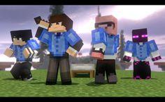 Minecraft, Animation, Highlights, Studios, Game, Black, Youtube, Ideas, Venison