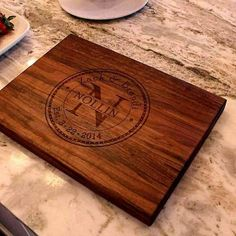 Personalized cutting board Anniversary gift Wedding gift