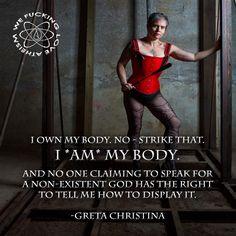 Greta Christina, religion, misogyny in religion, atheism