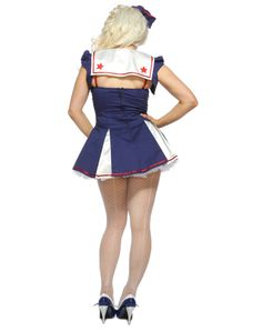 Star Spangled Sailor Adult Womens Costume
