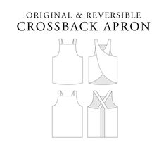 Free Pattern, Tutorial and Sewing Video – Cross back apron for adult and kids – Japanese Sewing, Pattern, Craft Books and Fabrics Child Apron Pattern, Apron Pattern Free, Pattern Sewing, Kids Apron Patterns, Dress Patterns, Japanese Sewing Patterns, Vintage Sewing Patterns, Vintage Apron Pattern, Japanese Apron