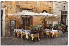 beautiful cafe scene.
