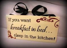 Definitely putting one of these up in my kitchen! #breakfast #kitchen #sign