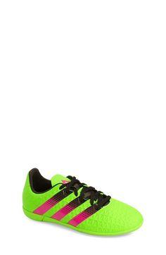 huge selection of d7f02 e0686 adidas Ace 16.3 Indoor Soccer Shoe (Toddler, Little Kid amp Big