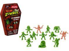 S.L.U.G Zombies 3 Pack Wave 3 Basehit Bones Jeet Kune Dead Woody the Wrecker NEW