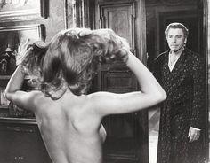 "Luchino Visconti and Burt Lancaster Make an Interesting ""Conversation Piece"" Luchino Visconti, From Here To Eternity, Deborah Kerr, Interesting Conversation, Cinema Film, Man Images, Guy Names, Film Director, Classical Music"