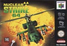 Nuclear Strike 64 - Just when things couldn't get any slower on the nuclear war scare front, a band of demented terrorists steps up and offers to clear the landscape of a major metropolitan city or two. In Nuclear Strike, players take command of Nintendo 64 Games, Nintendo N64, Games Box, Board Games, Movie Collection, The Expanse, Video Game, Permanent Marker