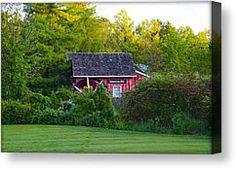 Kimberton Pa Canvas Prints - Kimberton Mill  Near Phoenixville Pa. Canvas Print by Bill Cannon