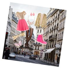 """""""Cute City Girl"""" by stellastar22 ❤ liked on Polyvore featuring Kate Spade, Chanel and Stephen Webster"""