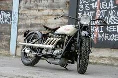 Indian Four NSU #classic #motorcycles #motos | caferacerpasion.com