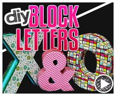In this episode of Do It, Gurl, Jamie is showing how to make DIY block letters! As she mentions, she'd been seeing these 3D letter decorations popping up to purchase, but in this case, why buy when you can DIY? Whether you want to make just one letter or a bunch to spell something out, … Read More
