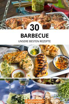Barbecue | eatsmarter.de Eat Smarter, Bbq, Meat, Chicken, Food, Barbecue, Barrel Smoker, Essen, Meals