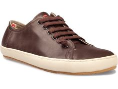 Leather casual shoe is a great alternative to a tennis shoe or even a canvas shoe. It's a bit more polished