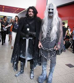 I've met John Snow as well! <3 +excited+  #london #mcmlondonexpo #londonexpo #mcmlondoncomiccon #mcmlondon #comiccon #convention #whitewalker #marvelcosplay #gameofthrones #gotcosplay #khaleesi #johnsnow #cosplay #cosplayuk #londoncosplay #costume #halloween #horror #scary #halloweenmakeup #toshirogohma #londonconvention #excellondon #johnsnowcosplay