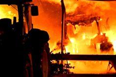 Firefighters battle Invercargill blaze - Newshub