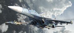 Skirmish Over Ukraine by rOEN911.deviantart.com on @DeviantArt