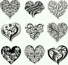Heart design tattoo