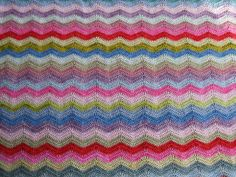 New picture of old ripple blanket by MiA Inspiration, via Flickr