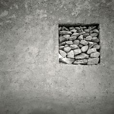 """Stone, steel, dominions pass, Faith too, no wonder; So leave alone the grass That I am under."" ― A.E. Housman, More Poems / Photo: Tony Kearney // Souls and Stones"