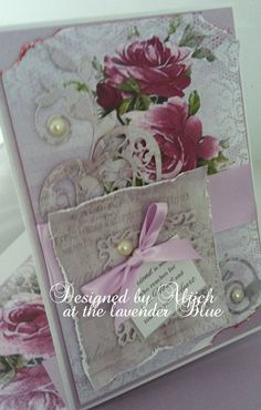 Friend Birthday Card, Wonderful friend, Personalized, Handmade by thelavenderblue on Etsy