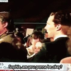 Yes, yes I will be Ben. Thank you for asking. - 15 Times Benedict Cumberbatch And Sophie Hunter Ruled The Red Carpet