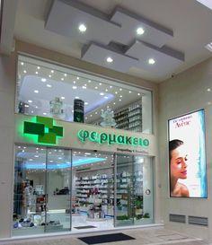 Pharmacy store exterior