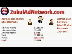 Zukul Ad Network Compensation Plan Review