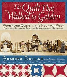 A master storyteller, Dallas captures the spirit of adventure and drive for survival of America's pioneer women, who often recorded their lives in the quilts and personal documents they left behind. Heart-rending accounts of life and death on the Overland Trail include stories of mothers who lovingly wrapped their children in quilts as burial shrouds. Little-known journals record the day-to-day trials of frontier women.